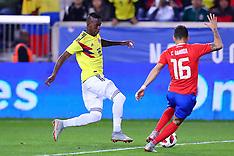 Costa Rica v Colombia - 16 Oct 2018