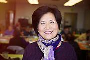 Senior Asian Woman Standing