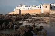 Essaouira, Morocco Town walls, medina, Atlantic ocean shore, Essaouira, Morocco