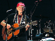 Willie Nelson at the Big State Festival, College Station, Texas, October 14, 2007.