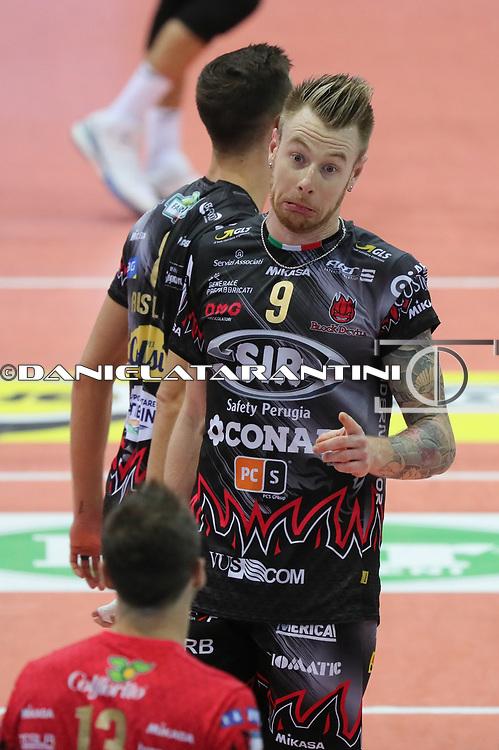 (Wixo LPR Piacenza - Sir safety Conad Perugia pallavolo)