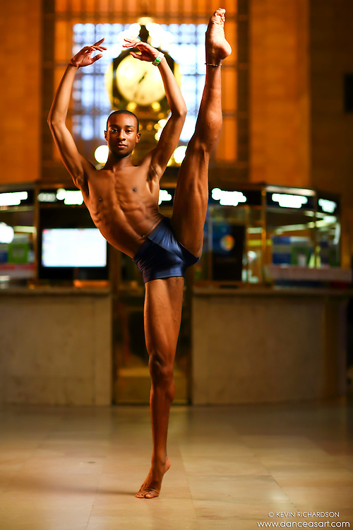 Dance As Art New York City Photography Project Grand Central Series with dancer, Daniel White