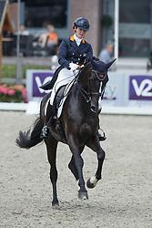Loos Franka, (NED), GG Flow Cadanza<br /> Equine MERC Young Riders Team Test<br /> Dutch Championship Dressage - Ermelo 2015<br /> © Hippo Foto - Dirk Caremans<br /> 17/07/15