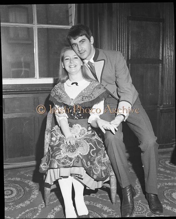 Sound of Music Cast at The Gaiety.16/04/1970