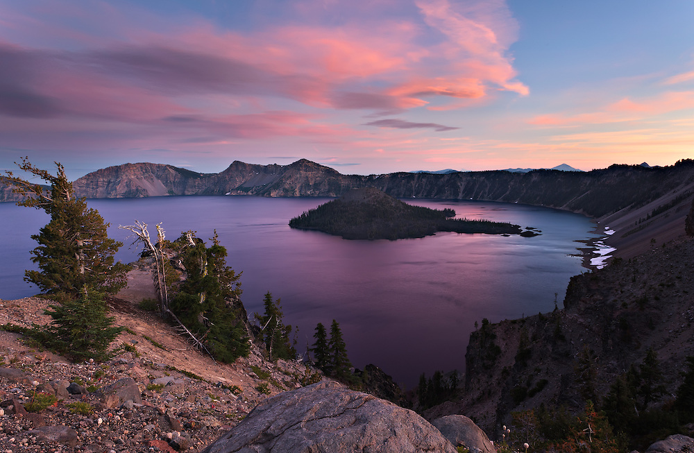 Crater Lake 7-27 PM