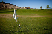 The driving range on the abandoned D'Andrea Golf Course in Sparks, Nevada, May 22, 2012.