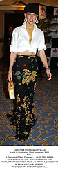 CHRISTINA ESTRADA JUFFALI at a ball in London on 22nd November 2003.<br /> POU 1