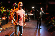 l to r: Common and Billal perform at The Hennessey Artistry Concert Series held at Terminal 5 on  October 7, 2009 in New York City