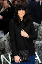 Claudia Winkleman arrives for the UK premiere of the film 'Noah', Odeon, London, United Kingdom. Monday, 31st March 2014. Picture by Chris Joseph / i-Images