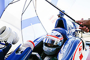 17-18 July, 2015, Newton, Iowa<br /> Takuma Sato<br /> &copy;2015 Sam Cobb<br /> LAT Photo USA