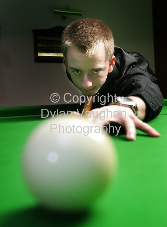 5/3/2006.Davey Morris pictured at his home in Kilkenny..Picture Dylan Vaughan.
