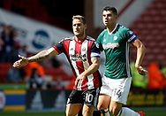 Billy Sharp of Sheffield Utd during the English Championship League match at Bramall Lane Stadium, Sheffield. Picture date: August 5th 2017. Pic credit should read: Simon Bellis/Sportimage