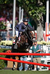 Guerdat Steve (SUI) - Tresor V<br /> CN International Grand Prix<br /> Spruce Meadows Masters - Calgary 2009<br /> © Dirk Caremans