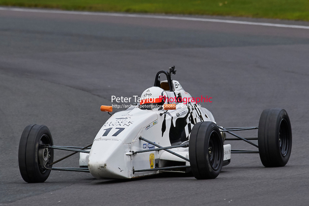 #17 Tom McAarthur Van Diemen LA10 during Avon Tyres Formula Ford 1600 Northern Championship - Prost 89 Race 2 as part of the BRSCC Fun Cup Oulton Park 17th October 2015 at Oulton Park, Little Budworth, Cheshire, United Kingdom. October 17 2015. World Copyright Taylor/PSP. Copy of publication required for printed pictures.  Every used picture is fee-liable. http://archive.petertaylor-photographic.co.uk
