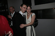 David Dawson and Emma Cunliffe , The Entertainer - press night at the Old Vic afterparty at The Baltic,  Blackfriars Road, London, SE1.  50th anniversary production of John Osborne play. 7 March 2007. -DO NOT ARCHIVE-© Copyright Photograph by Dafydd Jones. 248 Clapham Rd. London SW9 0PZ. Tel 0207 820 0771. www.dafjones.com.