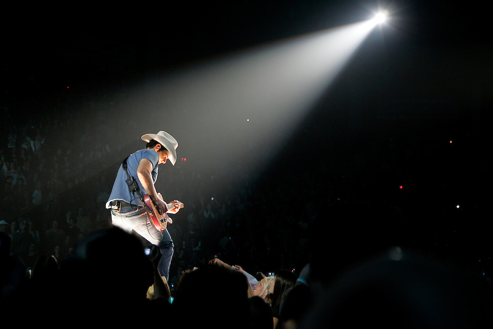 SCOTT MORGAN | ROCKFORD REGISTER STAR.Country star Brad Paisley performs to a packed house Friday, Nov. 16, 2007 at the MetroCentre in Rockford.