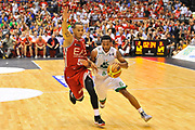 DESCRIZIONE : Campionato 2013/14 Finale GARA 7 Olimpia EA7 Emporio Armani Milano - Montepaschi Mens Sana Siena Scudetto<br /> GIOCATORE : Marquez Haynes<br /> CATEGORIA : Palleggio Penetrazion<br /> SQUADRA : Montepaschi Siena<br /> EVENTO : LegaBasket Serie A Beko Playoff 2013/2014<br /> GARA : Olimpia EA7 Emporio Armani Milano - Montepaschi Mens Sana Siena<br /> DATA : 27/06/2014<br /> SPORT : Pallacanestro <br /> AUTORE : Agenzia Ciamillo-Castoria / Luigi Canu<br /> Galleria : LegaBasket Serie A Beko Playoff 2013/2014<br /> Fotonotizia : DESCRIZIONE : Campionato 2013/14 Finale GARA 7 Olimpia EA7 Emporio Armani Milano - Montepaschi Mens Sana Siena<br /> Predefinita :