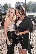 Koninklijk Theater Carre, Amsterdam. Lancering van de zevende editie van Amsterdam XXXl. Op de foto: Lente Voorhoeve
