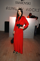 Fashion designer ROKSANDA ILINCIC at the Swarovski 'Runwy Rocks' held at the Phillips de Pury Gallery, Howick Place, London on 10th June 2008.<br /><br />NON EXCLUSIVE - WORLD RIGHTS