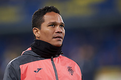 January 3, 2019 - Villarreal, Castellon, Spain - Carlos Bacca of Villarreal during the warm-up before the week 17 of La Liga match between Villarreal CF and Real Madrid at Ceramica Stadium in Villarreal, Spain on January 3 2019. (Credit Image: © Jose Breton/NurPhoto via ZUMA Press)