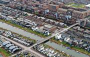 Nederland, Noord-Holland, Amsterdam, 16-01-2014;<br /> Close-up nieuwbouwwijk IJburg. Close-up residential district IJburg.<br /> luchtfoto (toeslag op standard tarieven);<br /> aerial photo (additional fee required);<br /> copyright foto/photo Siebe Swart