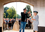 21 -9-2016 Oldebroek - Princess Beatrix of the Netherlands opens Wednesday September 21 the restored Molen De Hoop in Oldebroek. restored after a restoration period of five years, the exterior of the mill in 1853 and the blades can rotate again. The mill gets back its original three functions; grinding, peeling and beat oil. Several volunteer millers (in training) hold Molen De Hoop spinning. COPYRIGHT ROBIN UTRECHT<br /> 21 -9-2016 Oldebroek - Prinses Beatrix der Nederlanden opent woensdagochtend 21 september de gerestaureerde Molen De Hoop in Oldebroek. Na een restauratieperiode van vijf jaar is het exterieur van de korenmolen uit 1853 hersteld en kunnen de wieken weer draaien. Ook krijgt de molen haar drie oorspronkelijke functies terug; malen, pellen en olie slaan. Diverse vrijwillige molenaars (in opleiding) houden Molen De Hoop draaiende. COPYRIGHT ROBIN UTRECHT