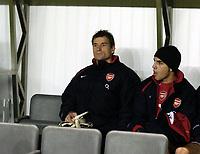 Fotball<br /> Premier League 2004/05<br /> Newcastle v Arsenal<br /> 29. desember 2004<br /> Foto: Digitalsport<br /> NORWAY ONLY<br /> Arsenal's Jens Lehmann looks glumly on from the bench