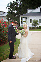 Brannon Woods and John Skillern celebrate their wedding day with family and friends at Bayside Academy in Daphne, Ala., October 19, 2013.