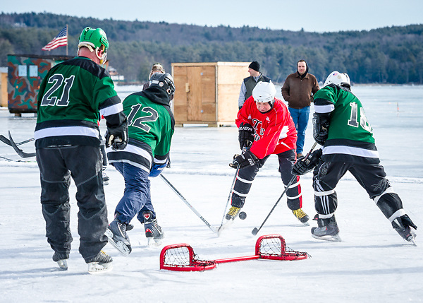 New England Pond Hockey Classic, Meredith, NH. February 2-3, 2013. All Content is Copyright of Kathie Fife Photography. Downloading, copying and using images without permission is a violation of Copyright.