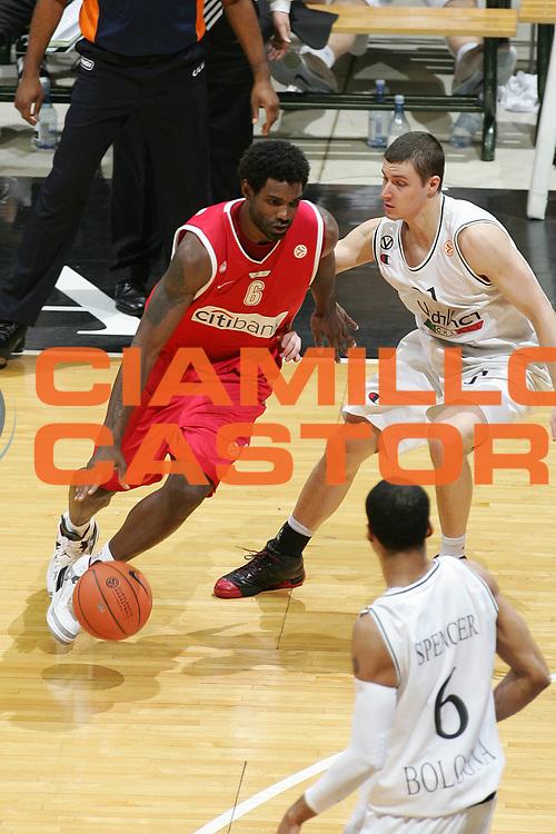 DESCRIZIONE : Bologna Eurolega 2007-08 VidiVici Virtus Bologna Olympiacos Pireo <br /> GIOCATORE : Qyntel Woods<br /> SQUADRA : Olympiacos Pireo <br /> EVENTO : Eurolega 2007-2008 <br /> GARA : VidiVici Virtus Bologna Olympiacos Pireo <br /> DATA : 03/01/2008 <br /> CATEGORIA : Palleggio<br /> SPORT : Pallacanestro <br /> AUTORE : Agenzia Ciamillo-Castoria/M.Minarelli