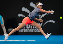 January 10, 2019 - Sydney, Australia - ELISE MERTENS of Belgium in action during her quarter-final match at the 2019 Sydney International WTA Premier tennis tournament. (Credit Image: © AFP7 via ZUMA Wire)