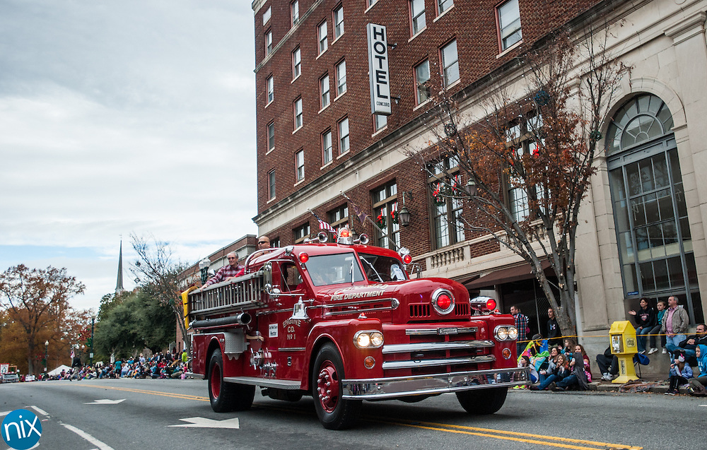Scenes from the 2013 Concord Christmas parade along Church Street and Union Street Saturday afternoon.