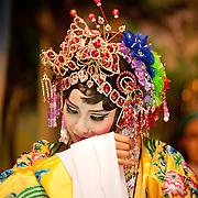 Shiukim Taiwanese Opera Troupe performs at BeiJi Tian Temple, #89 Ming Chuan Road, Sec. 2, Tainan , Taiwan