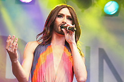 Conchita Wurst, Pride in London 2014, London UK, 28 June 2014, Photo by Brett D. Cove