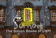 The Simon House of Light show
