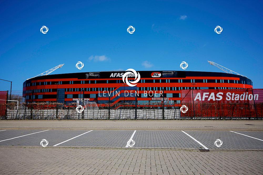 ALKMAAR - In het AZ Stadion is de NNP dag 2013 gehouden. Met op de foto  het AFAS Stadion AZ Alkmaar. FOTO LEVIN DEN BOER - PERSFOTO.NU