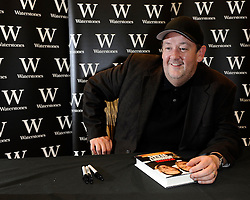 "Johnny Vegas attends a Booksigning.""Being Johnny Vegas"", at Waterstones Bluewater Shopping Centre, Kent, United kingdom, Tuesday, 15th October 2013. Picture by i-Images."