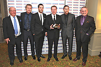 The Football Extravaganza, Harry Redknapp receives the Lifetime Achievement Award in aid of Nordoff Robbins..Tuesday, Feb 3rd, 2009. (Photo/John Marshall JME)
