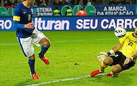 Malmö  2012-10-11  Fotboll  Landskamp  Brazil    - Iraq   :  Brazil 8 Kaka Iraq 22 Noor Sabri.(Foto: Christer Thorell, Pic-Agency.com) Nyckelord : fotboll , football , soccer , Landskamp , Herrar , Men , Brazil , Iraq , .