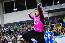 Klemen Ferlin of Slovenia during friendly handball match between Slovenia and Nederland, on October 25, 2019 in Športna dvorana Hardek, Ormož, Slovenia. Photo by Blaž Weindorfer / Sportida