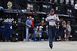 November 16, 2018 - Homestead, Florida, U.S. - Jimmie Johnson (48) hangs out in the garage during practice for the Ford 400 at Homestead-Miami Speedway in Homestead, Florida. (Credit Image: © Chris Owens Asp Inc/ASP)