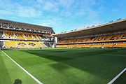General view inside the stadium before the Premier League match between Wolverhampton Wanderers and Aston Villa at Molineux, Wolverhampton, England on 10 November 2019.