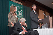 17901College of Business Celebration Honoring Ralph & Luci Schey and their naming of ?The Sales Centre at Ohio University? in Nelson Commons Thursday Oct. 19th, 2006...Ralph & Luci Shey & Son Larry Schey