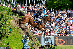 MOELLER Joerg (GER), Lion Cor<br /> Hamburg - 90. Deutsches Spring- und Dressur Derby 2019<br /> J.J.Darboven präsentiert: <br /> 90. Deutsches Spring-Derby<br /> Bemer Riders Tour - Wertungsprüfung 3. Etappe <br /> CSI4* - Derby Tour Springprüfung mit Stechen<br /> 02. Juni 2019<br /> © www.sportfotos-lafrentz.de/Stefan Lafrentz