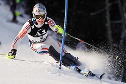 23.01.2011, Hahnenkamm, Kitzbuehel, AUT, FIS World Cup Ski Alpin, Men, Slalom, im Bild // Julien Lizeroux (FRA) // during the men slalom race at the FIS Alpine skiing World cup in Kitzbuehel, EXPA Pictures © 2011, PhotoCredit: EXPA/ S. Zangrando