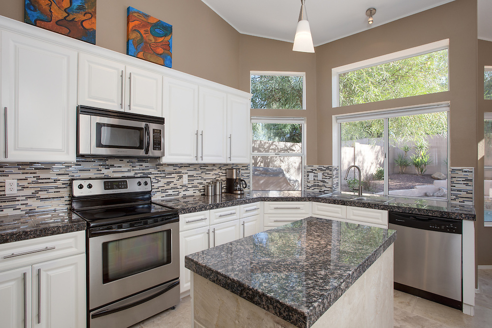 Kitchen real estate photography, Cave Creek, Arizona