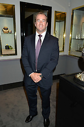Rugby player JAMES SIMPSON-DANIEL at a party to celebrate the publication of the Summer edition og the Fitzdares Times held at Theo Fennell, 169 Fulham Road, London on 13th June 2016.