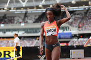 Funmi Jimoh in the Woman Long Jump during the Sainsbury's Anniversary Games at the Queen Elizabeth II Olympic Park, London, United Kingdom on 25 July 2015. Photo by Phil Duncan.