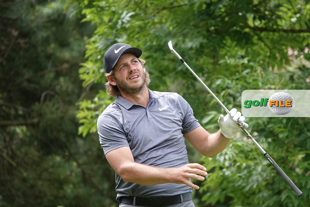James Heath (ENG) in action during the third round of the Hauts de France-Pas de Calais Golf Open, Aa Saint-Omer GC, Saint- Omer, France. 15/06/2019<br /> Picture: Golffile | Phil Inglis<br /> <br /> <br /> All photo usage must carry mandatory copyright credit (© Golffile | Phil Inglis)
