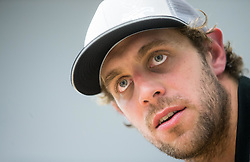 Anze Kopitar during press conference at Hockey Academy of Anze Kopitar and Tomaz Razingar, on July 6, 2017 in Ice Hockey arena Bled, Slovenia. Photo by Vid Ponikvar / Sportida